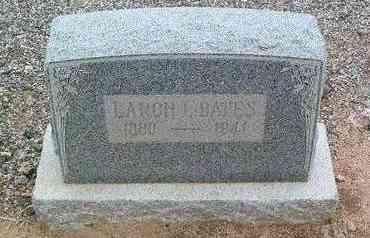 BATES, LARON LIONEL - Yavapai County, Arizona | LARON LIONEL BATES - Arizona Gravestone Photos