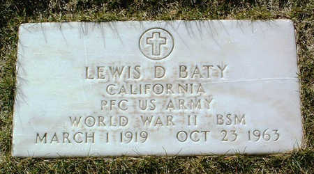 BATY, LEWIS D. - Yavapai County, Arizona | LEWIS D. BATY - Arizona Gravestone Photos