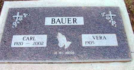 BAUER, ERMEST CARL - Yavapai County, Arizona | ERMEST CARL BAUER - Arizona Gravestone Photos