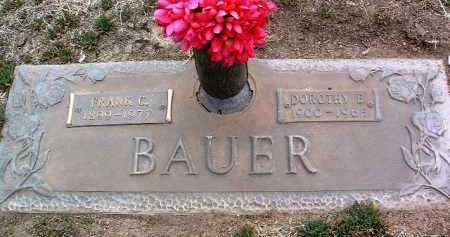 BAUER, DOROTHY ELIZABETH - Yavapai County, Arizona | DOROTHY ELIZABETH BAUER - Arizona Gravestone Photos