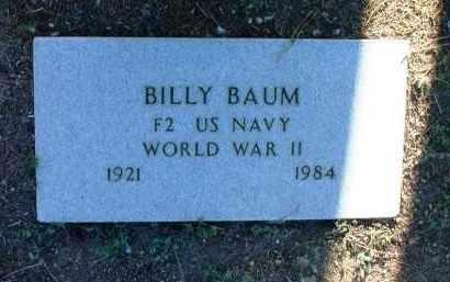 BAUM, BILLY - Yavapai County, Arizona | BILLY BAUM - Arizona Gravestone Photos