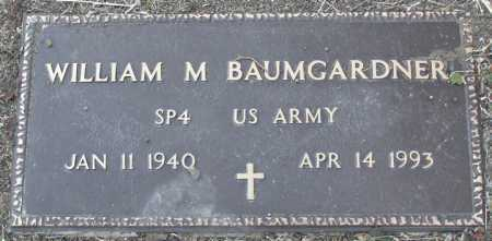 BAUMGARDNER, WILLIAM MERL - Yavapai County, Arizona   WILLIAM MERL BAUMGARDNER - Arizona Gravestone Photos