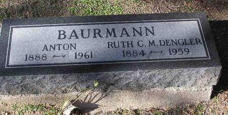 DENGLER BAURMANN, RUTH C M - Yavapai County, Arizona   RUTH C M DENGLER BAURMANN - Arizona Gravestone Photos