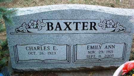 BAXTER, EMILY ANN - Yavapai County, Arizona | EMILY ANN BAXTER - Arizona Gravestone Photos