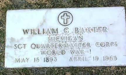 BAXTER, WILLIAM G. - Yavapai County, Arizona | WILLIAM G. BAXTER - Arizona Gravestone Photos