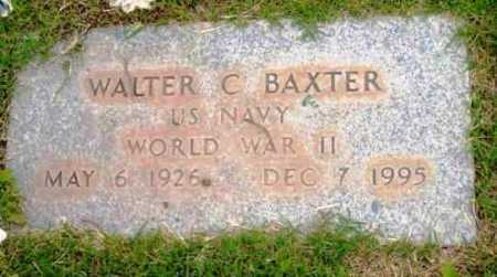 BAXTER, WALTER C. - Yavapai County, Arizona   WALTER C. BAXTER - Arizona Gravestone Photos
