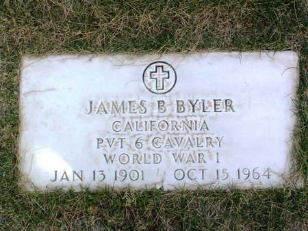 BYLER, JAMES  B. - Yavapai County, Arizona | JAMES  B. BYLER - Arizona Gravestone Photos