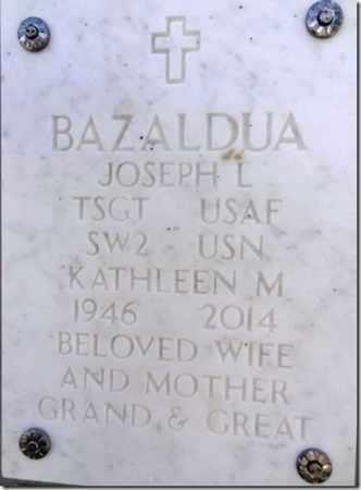 BAZALDUA, JOSEPH L. - Yavapai County, Arizona | JOSEPH L. BAZALDUA - Arizona Gravestone Photos