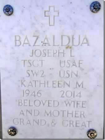 BAZALDUA, JOSEPH L. - Yavapai County, Arizona   JOSEPH L. BAZALDUA - Arizona Gravestone Photos