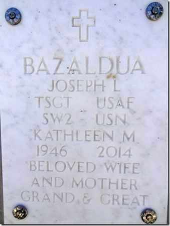 BAZALDUA, KATHLEEN M. - Yavapai County, Arizona | KATHLEEN M. BAZALDUA - Arizona Gravestone Photos