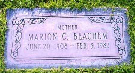 BEACHEM, MARION C. - Yavapai County, Arizona | MARION C. BEACHEM - Arizona Gravestone Photos