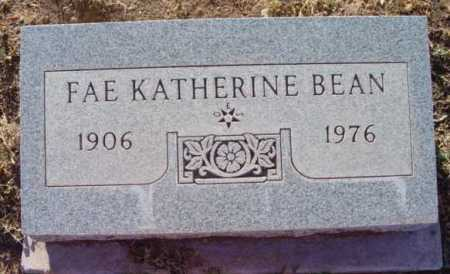 KNOWLES BEAN, FAE KATHERINE - Yavapai County, Arizona | FAE KATHERINE KNOWLES BEAN - Arizona Gravestone Photos