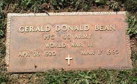 BEAN, GERALD DONALD - Yavapai County, Arizona   GERALD DONALD BEAN - Arizona Gravestone Photos
