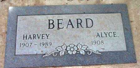 BEARD, HARVEY - Yavapai County, Arizona | HARVEY BEARD - Arizona Gravestone Photos