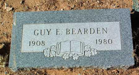 BEARDEN, GUY E. - Yavapai County, Arizona | GUY E. BEARDEN - Arizona Gravestone Photos