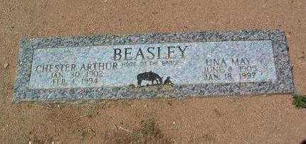 BEASLEY, UNA MAY - Yavapai County, Arizona | UNA MAY BEASLEY - Arizona Gravestone Photos