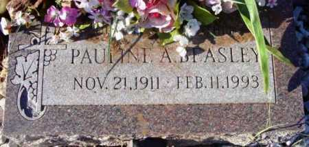 BEASLEY, PAULINE AMELIA - Yavapai County, Arizona | PAULINE AMELIA BEASLEY - Arizona Gravestone Photos