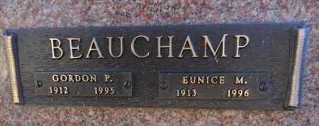 BEAUCHAMP, GORDON P. - Yavapai County, Arizona | GORDON P. BEAUCHAMP - Arizona Gravestone Photos