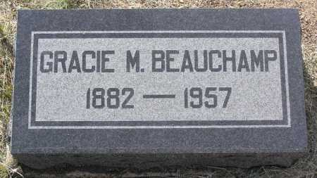 BEAUCHAMP, GRACIE M. - Yavapai County, Arizona | GRACIE M. BEAUCHAMP - Arizona Gravestone Photos