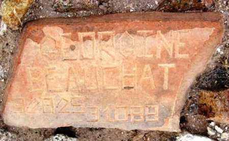 EBERT BEAUCHAT, BEATRICE - Yavapai County, Arizona | BEATRICE EBERT BEAUCHAT - Arizona Gravestone Photos