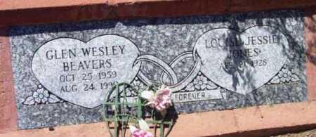 BEAVERS, LOUISE JESSIE - Yavapai County, Arizona | LOUISE JESSIE BEAVERS - Arizona Gravestone Photos