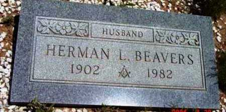 BEAVERS, HERMAN L. - Yavapai County, Arizona | HERMAN L. BEAVERS - Arizona Gravestone Photos