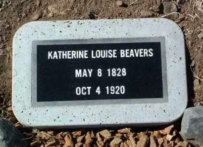 BEAVERS, KATHERINE LOUISE - Yavapai County, Arizona | KATHERINE LOUISE BEAVERS - Arizona Gravestone Photos