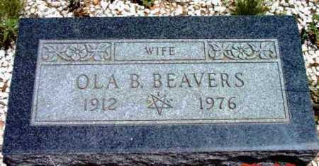 BEAVERS, OLA B. - Yavapai County, Arizona | OLA B. BEAVERS - Arizona Gravestone Photos