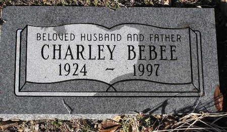 BEBEE, CHARLEY - Yavapai County, Arizona   CHARLEY BEBEE - Arizona Gravestone Photos
