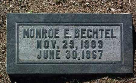 BECHTEL, MONROE ELAM - Yavapai County, Arizona   MONROE ELAM BECHTEL - Arizona Gravestone Photos