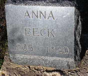 BECK, ANNA - Yavapai County, Arizona | ANNA BECK - Arizona Gravestone Photos