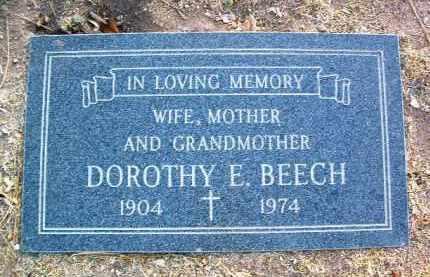 BEECH, DOROTHY ELIZABETH - Yavapai County, Arizona | DOROTHY ELIZABETH BEECH - Arizona Gravestone Photos