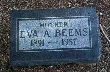 GRAY BEEMS, EVA A. - Yavapai County, Arizona | EVA A. GRAY BEEMS - Arizona Gravestone Photos