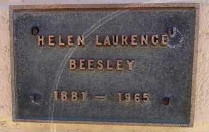 LAURENCE BEESLEY, HELEN - Yavapai County, Arizona | HELEN LAURENCE BEESLEY - Arizona Gravestone Photos