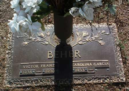 GARCIA BEHER, CAROLINA - Yavapai County, Arizona   CAROLINA GARCIA BEHER - Arizona Gravestone Photos