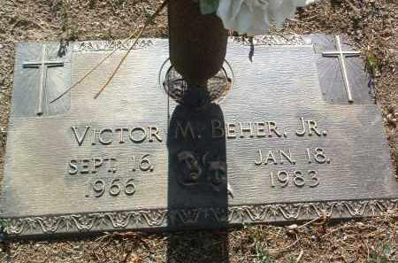 BEHER, VICTOR M., JR. - Yavapai County, Arizona | VICTOR M., JR. BEHER - Arizona Gravestone Photos