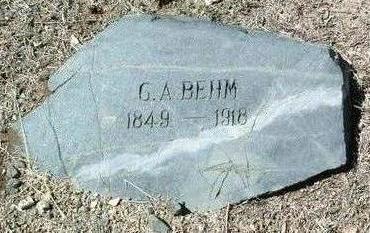 BEHM, CHARLES A. - Yavapai County, Arizona | CHARLES A. BEHM - Arizona Gravestone Photos