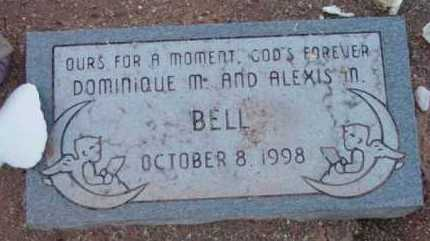 BELL, DOMINIQUE M. - Yavapai County, Arizona | DOMINIQUE M. BELL - Arizona Gravestone Photos