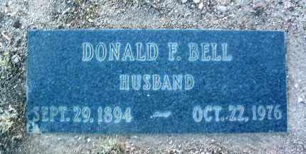 BELL, DONALD FRANCIS - Yavapai County, Arizona | DONALD FRANCIS BELL - Arizona Gravestone Photos
