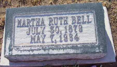 BELL, MARTHA RUTH - Yavapai County, Arizona | MARTHA RUTH BELL - Arizona Gravestone Photos