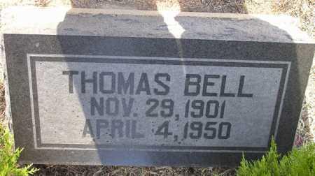 BELL, THOMAS - Yavapai County, Arizona | THOMAS BELL - Arizona Gravestone Photos