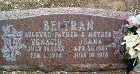BELTRAN, JUANA A. - Yavapai County, Arizona | JUANA A. BELTRAN - Arizona Gravestone Photos