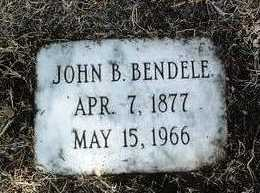 BENDELE, JOHN B. - Yavapai County, Arizona | JOHN B. BENDELE - Arizona Gravestone Photos