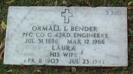 MCCORMACK BENDER, LAURA MAY - Yavapai County, Arizona | LAURA MAY MCCORMACK BENDER - Arizona Gravestone Photos