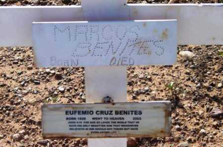 BENITES, EUFEMISO CRUZ - Yavapai County, Arizona | EUFEMISO CRUZ BENITES - Arizona Gravestone Photos