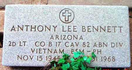 BENNETT, ANTHONY LEE - Yavapai County, Arizona | ANTHONY LEE BENNETT - Arizona Gravestone Photos