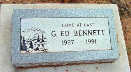 BENNETT, GEORGE EDWARD - Yavapai County, Arizona | GEORGE EDWARD BENNETT - Arizona Gravestone Photos