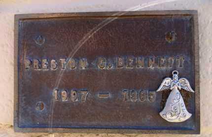 BENNETT, PRESTON CLEMENT - Yavapai County, Arizona | PRESTON CLEMENT BENNETT - Arizona Gravestone Photos