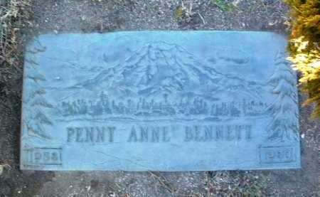 BENNETT, PENNY ANNE - Yavapai County, Arizona | PENNY ANNE BENNETT - Arizona Gravestone Photos
