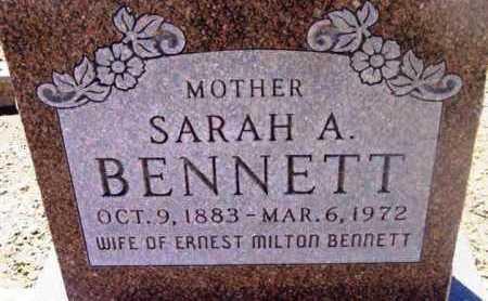 BENNETT, SARAH ANNETTE - Yavapai County, Arizona | SARAH ANNETTE BENNETT - Arizona Gravestone Photos